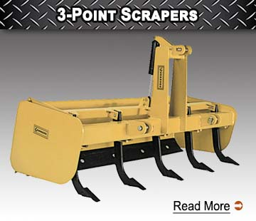 3 Point Scrapers