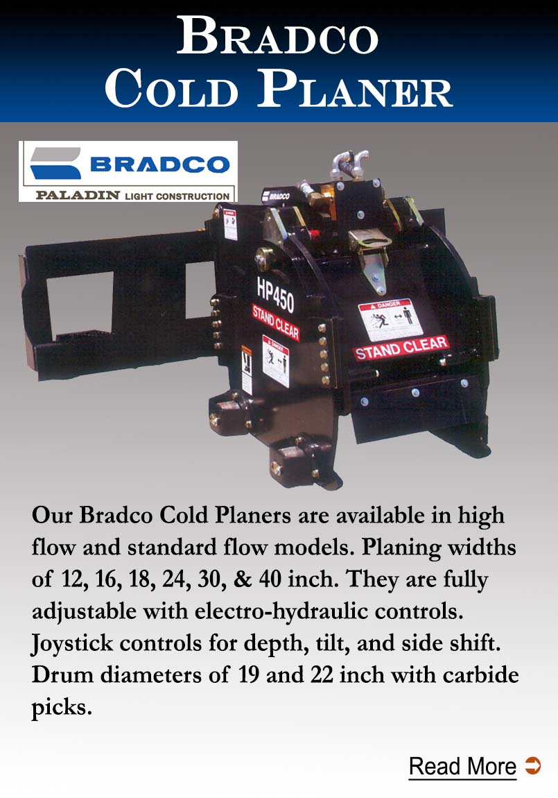 Bradco Cold Planers