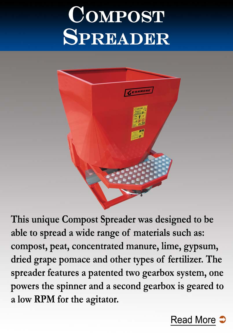 Gearmore Compost Spreaders