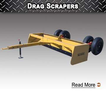 Drag Scrapers