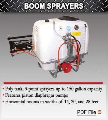 Economy Boom Sprayers