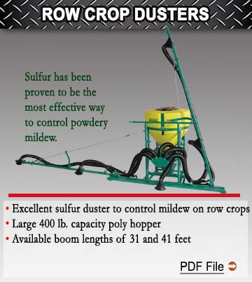 Row Crop Dusters