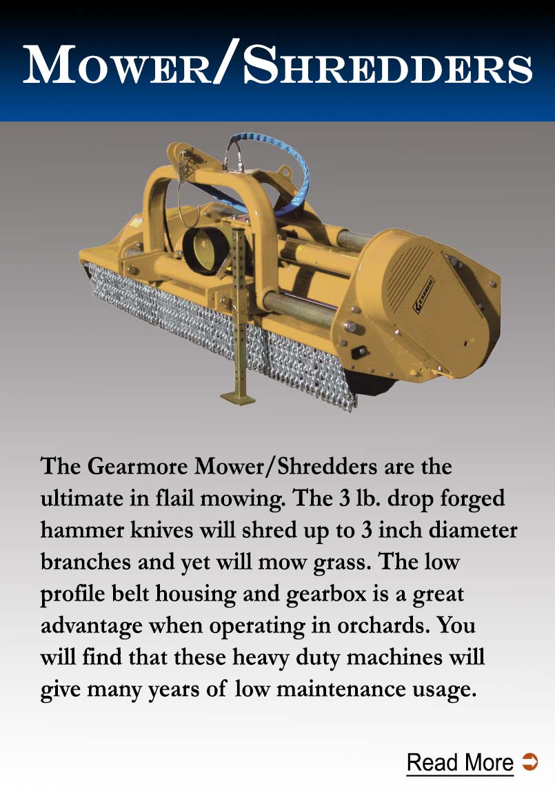 Gearmore Mower/Shredder