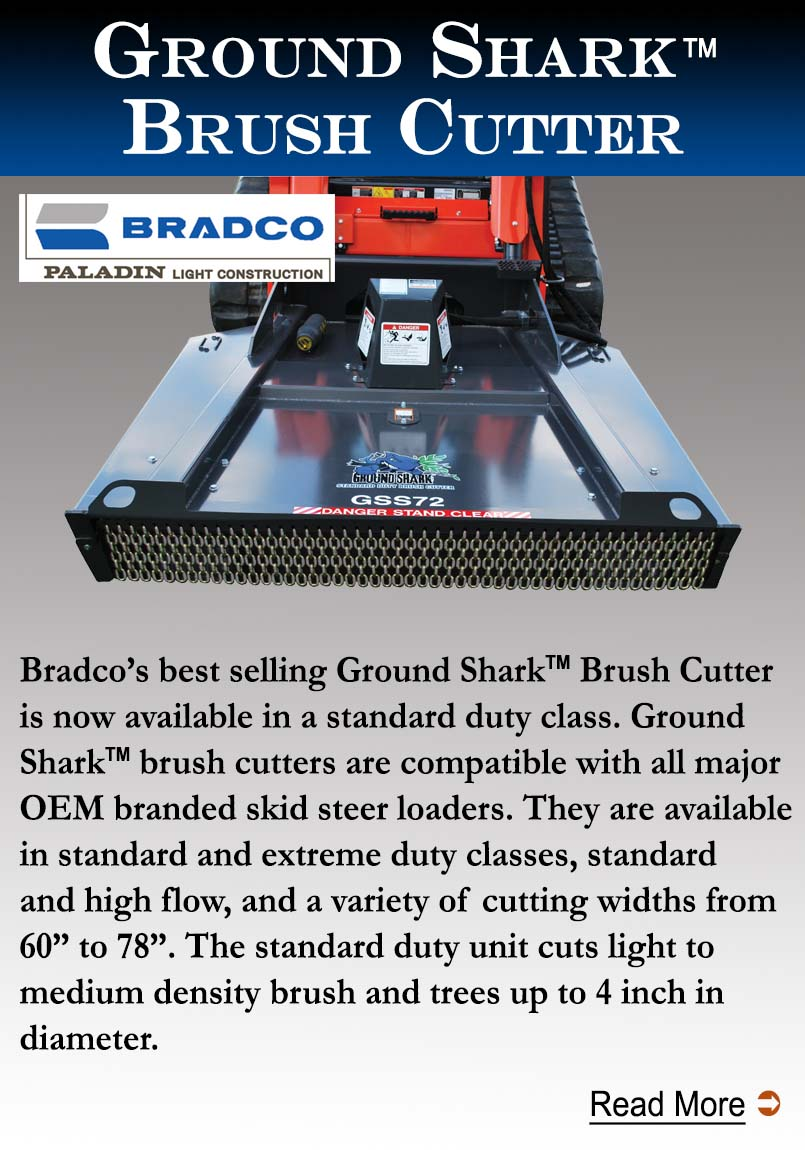 Bradco Ground Shark Brush Cutter