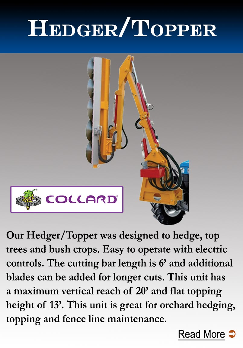 Collard Hedger/Topper