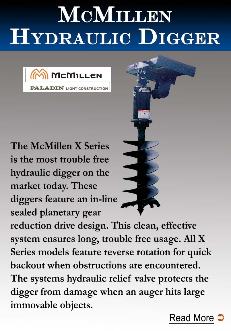 McMillen Hydraulic Diggers