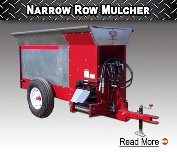Narrow Row Mulcher