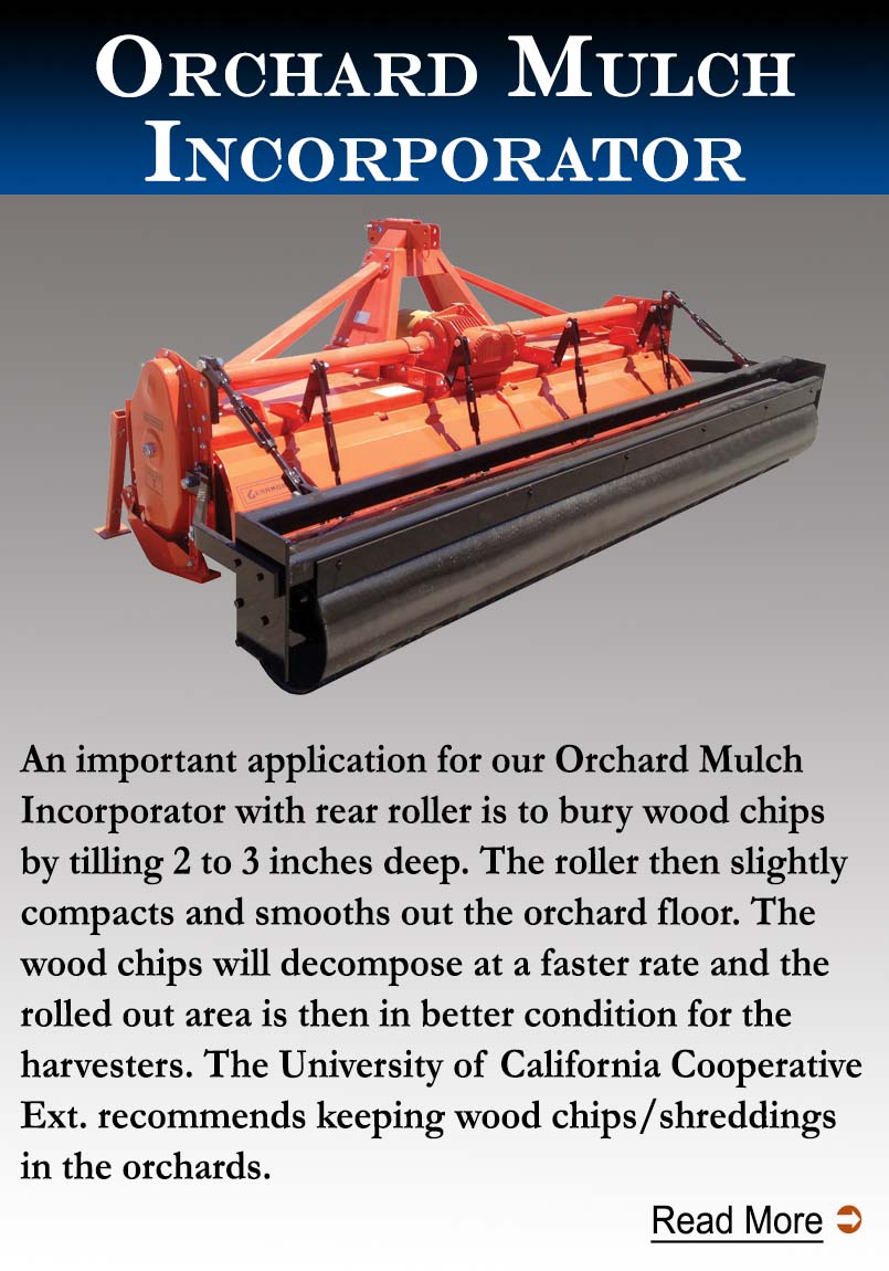 Orchard Mulch Incorporator