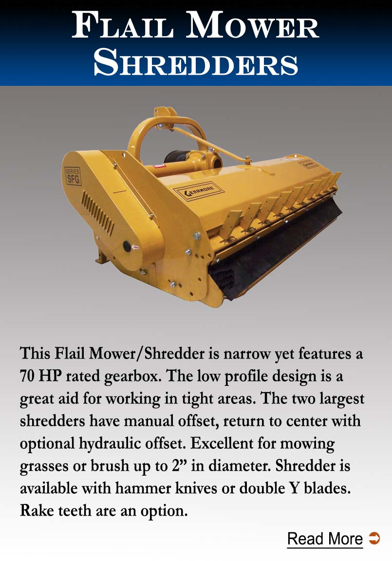 Flail Mower/Shredders