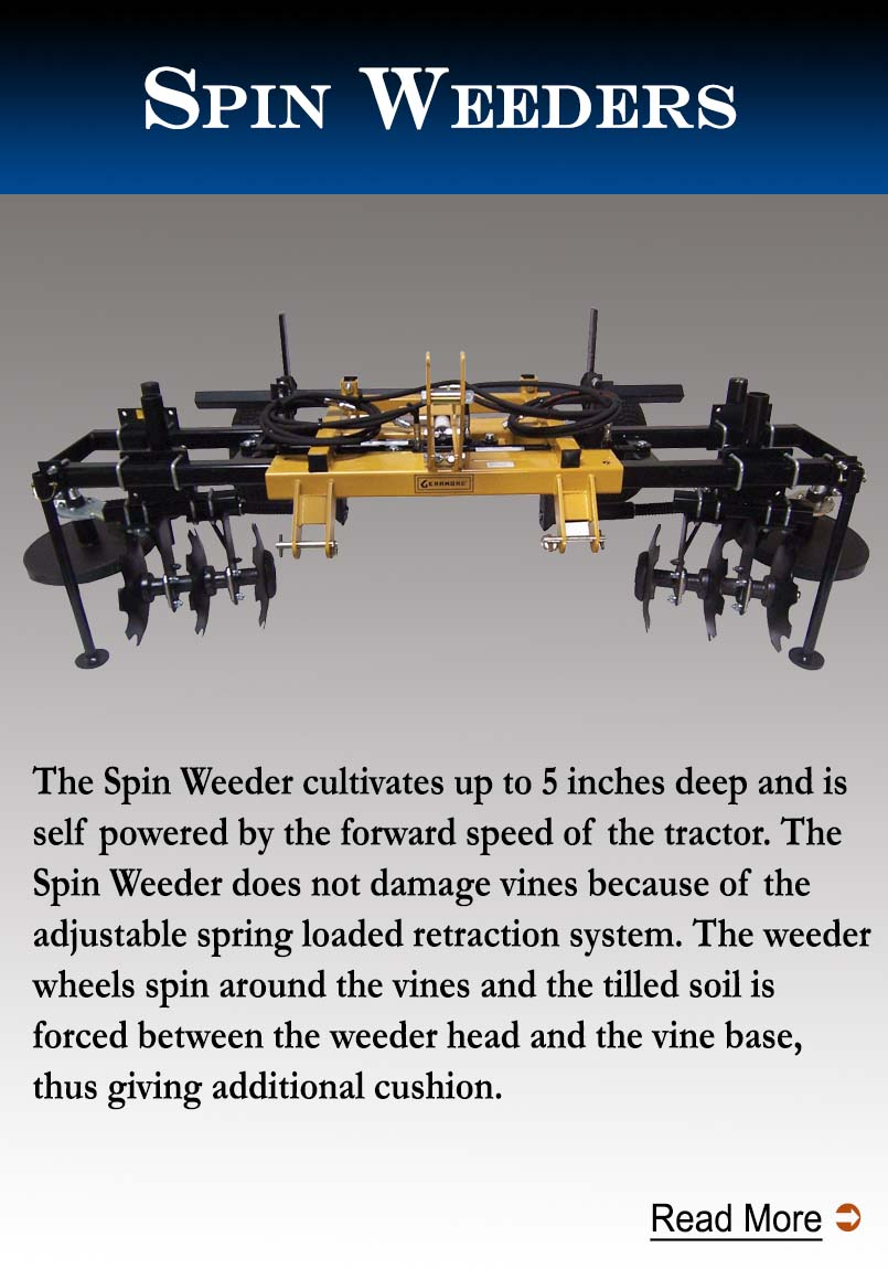 Spin Weeders