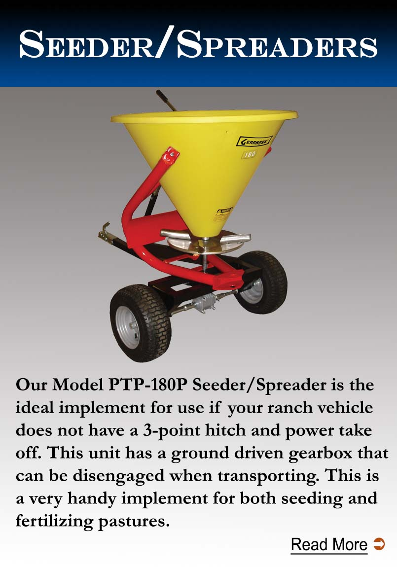Spinner Spreaders