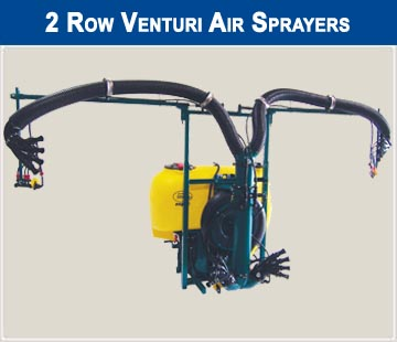 Vineyard 2 row sprayer