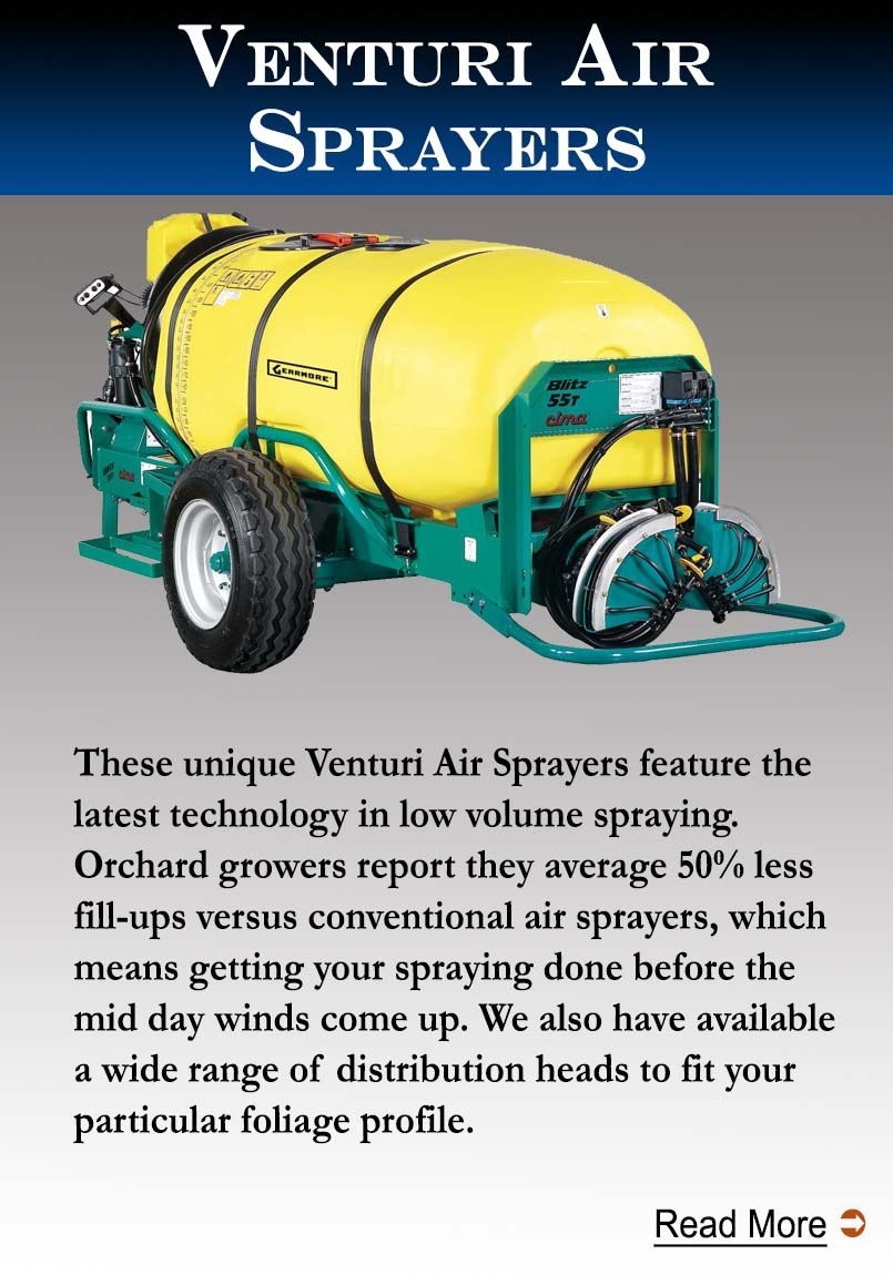 Venturi Air Trailer Sprayers