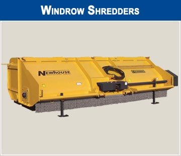 Windrow Shredders